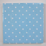 Ceramic Wall Tiles Made With Cath Kidston Mini Blue Spot